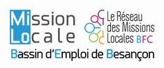 Logo Mission Locale de Besançon